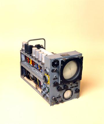 Indicator unit for H2S Mk IIc radar installation, c 1950.