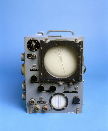 Indicator unit for H2S Mk IIc radar installation, c 1950.