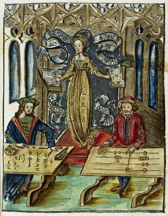 'Typus Arithmeticae', 1535.