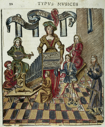 'Typus Musices', 1535.