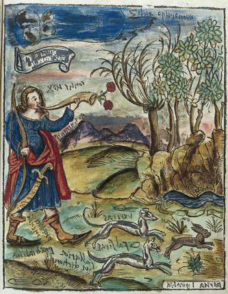 Hunting scene, 1535.