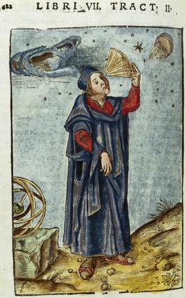 Figure with quadrant, c 1503.