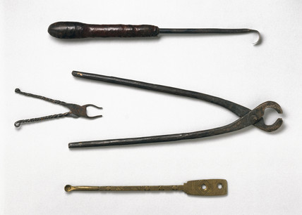 Medical instruments, Nigeria, c 1880-1920.