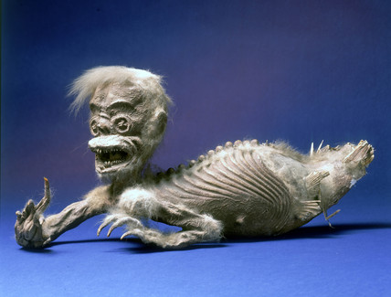 'Mermaid', Javanese ritual figure, c 1840-1870.