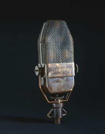 BBC Marconi ribbon microphone, 1934-1959.