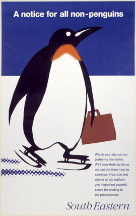 BR safety poster, 1995 (NRM / Pictorial Collection / Science & Society)