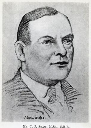 John Johnson Shaw, seismologist, c 1920.