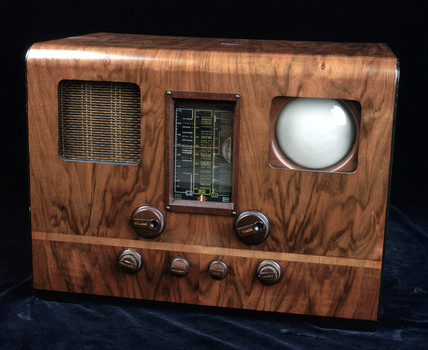 Marconiphone television receiver, model 707, c 1938.