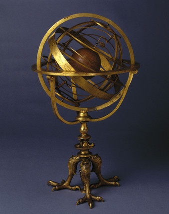 Armillary sphere, 1554.