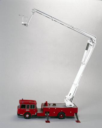 'Simon Snorkel', hydraulic platform appliance, 1965.