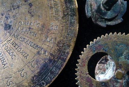 Parts of a portable sundial-calendar, Byzantine, c 520 AD.