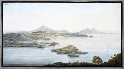 The Campi Phlegraei territory, Kingdom of Naples, c 1770.