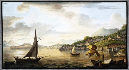 Lacco on the island of Ischia, off Sicily, c 1770.