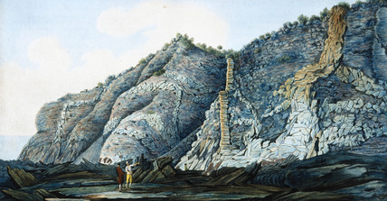 The cone of Mount Somma, Kingdom of Naples, c 1776.