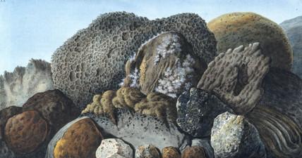 Volcanic matter from Mount Vesuvius, c 1770