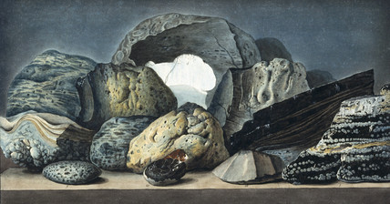 Volcanic matter from various sites in southern Italy, c 1770.