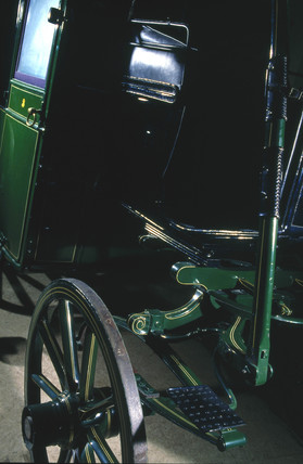 The original Brougham carriage, 1838.
