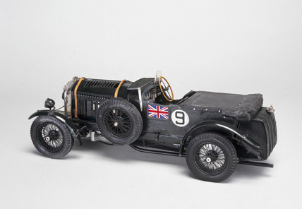 Bentley racing car, 1930.