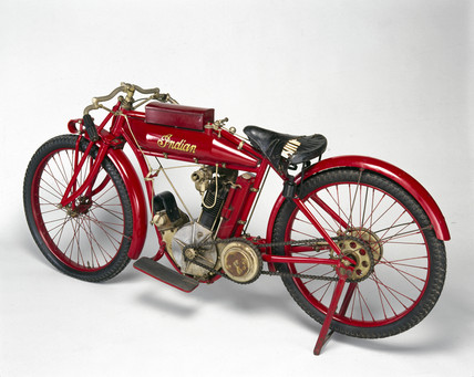 Indian motor cycle, 1911.