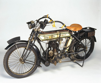 Rudge 'Multi' motorcycle, 1915.