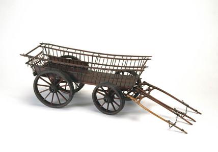 Surrey wagon, c 1800.