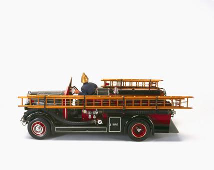 Leyland 'New World' motor fire engine, 1936.