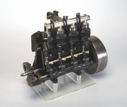 Wilkinson motorcycle engine, 1909.