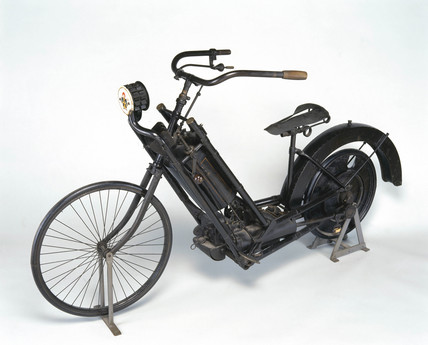 Wolfmuller motor bicycle, 1894.