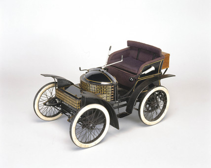 Wolseley Voiturette car, 1899.