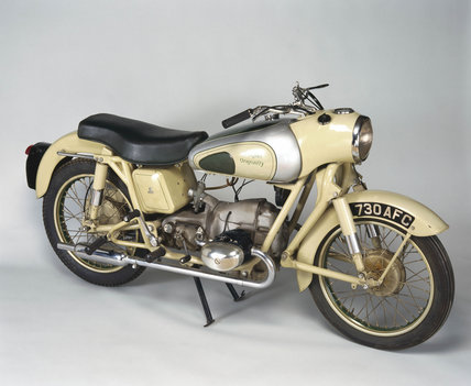 Douglas 'Dragonfly' motorcycle, 1954.