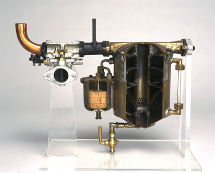 Carburettor from Delahaye motor car, 1901.