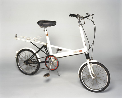 Raleigh 'Moulton MK3' bicycle, 1970.