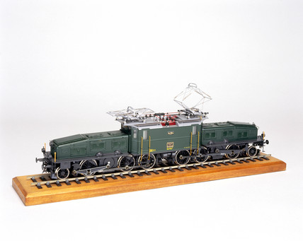 Swis Federal Railway electric locomotive,