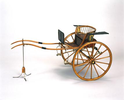 Gig, mid 19th century.