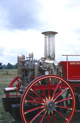 Steam fire engine, 1894.