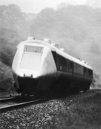 Advanced Pasenger Train (APT-E), 1973.
