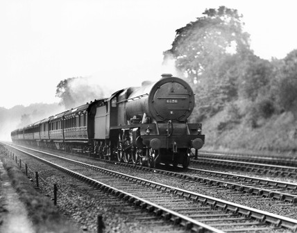 'The Sanspareil' Royal Scot steam locomotive, 1930.