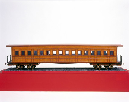 A North American Pullman parlour car, c 187