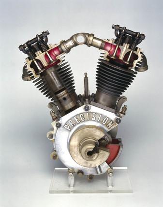 'Precision' engine, 1913.