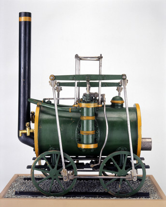 Locomotive by Robert Stephenson and Co, c 1