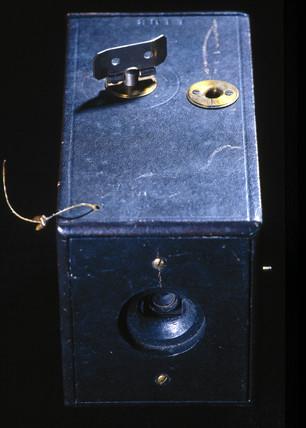 The Kodak camera, 1888.
