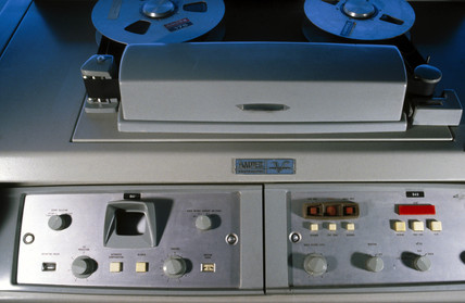 Ampex VR1000 video recorder, c 1956.