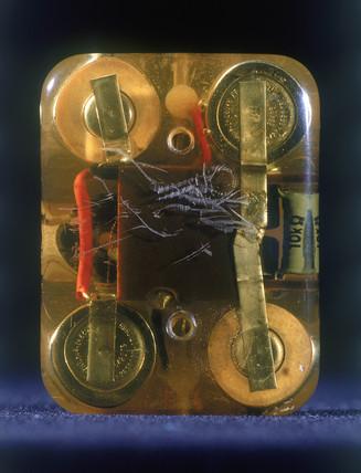 Internal cardiac pacemaker, 1961-1962.