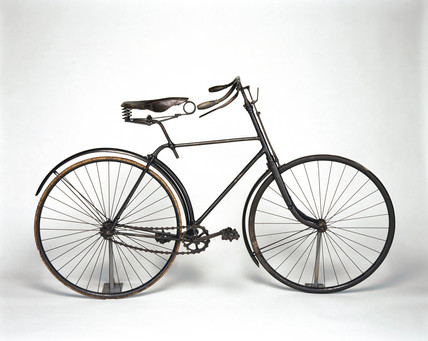 Singer 'safety' bicycle, 1890.