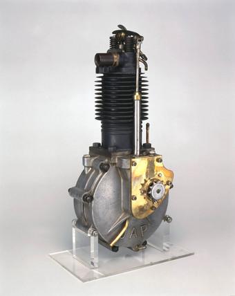 JAP motorcycle engine, 1904.