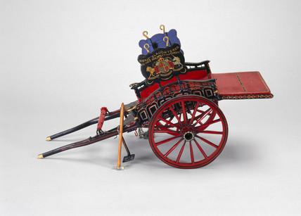 Horse slaughterer's cart, c 1850.