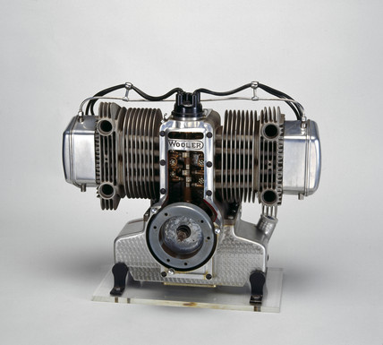Wooler motorcycle engine, 1950.