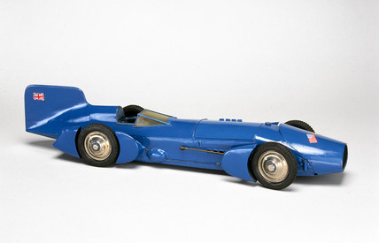 Model of Malcolm Campbells 1931 record-breaking car (Science Museum / Science & Society)