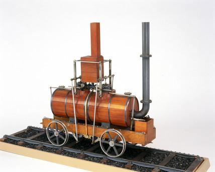 Blenkinsop's rack locomotive, 1812. Model (