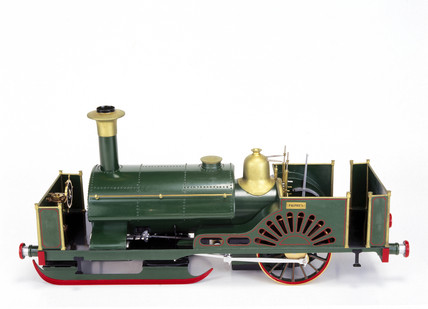 Ice locomotive, 1861. Model. This represent